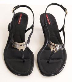 Prada flat sandal