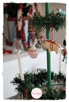 VELKOMMEN HOS INDRETNING MED FARVER.: Mit fine Juletræ...
