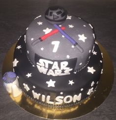 #birthday cake #star #wars