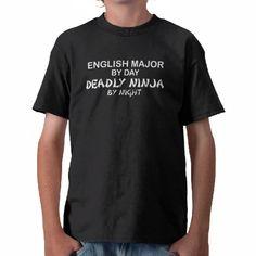 abcd766b English Major Deadly Ninja Tees Bubble, Year 2, Dark, Basketball Design,  Basketball