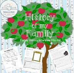 Love this! Family history interview kit - free!