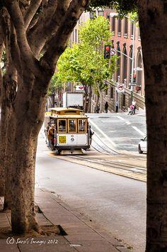 San Francisco Tram, California