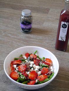 Haricot-fraise-jambon de Parme font bon ménage !