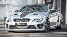 This is a 231mph, 987bhp BMW M6. G-Power's most powerful creation will do over 100 metres per second. Last-gen M6 goes feral