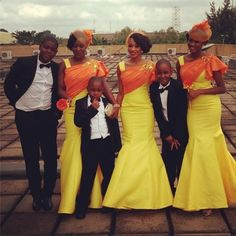 nigerian wedding dress | bellanaija_ewam_nigerian_wedding_bridesmaid_headpieces_Dresses by @ ...