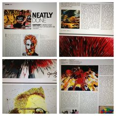 Made it into a lenabese art magazine called RagMag .. A long interview