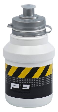 P3 Bottle Caution - Soft push-pull tip. Regular Hi-Flow of liquid . Ergonomic grip. We don't recommend heating the bottle in a microwave since contents can heat unevenly. We only recommend putting warm liquids in the Kids bottles. Complies with food contact regulations.