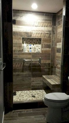 Create a beautiful tiny bathroom with these amazing bathroom shower ideas. Your tiny bathroom shower will look extremely gorgeous with the help of these ideas. Bathroom Layout, Bathroom Interior Design, Bathroom Ideas, Budget Bathroom, Shower Ideas, Bathroom Cabinets, Bathroom Showers, Basement Bathroom, Bathroom Designs
