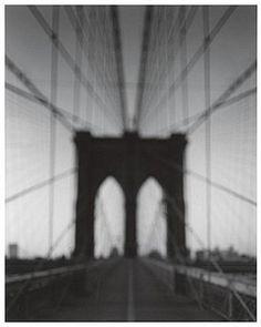 Lot 58 Hiroshi Sugimoto Brooklyn Bridge 2001 of 25 Silver Gelatin print Embossed edition lower right Image x Frame x Street Photography, Landscape Photography, Art Photography, Stephen Shore, Robert Rauschenberg, Pop Art, Edward Weston, Charles Sheeler, Hiroshi Sugimoto