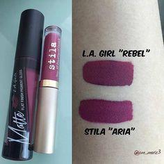 """Stila """"Aria"""" Dupe x L.A. Girl """"Rebel"""""""