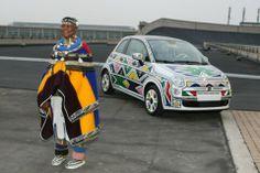 The Chronicles of Ndebele Artist Esther Mahlangu - Afro Art MediaAfro Art Media Esther, Tracey Emin, South African Artists, Africa Art, Arts Ed, African Design, Fiat 500, Medium Art, Art Cars