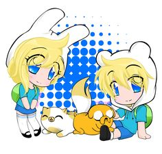 finn and jake and fionna and cake - Google Search