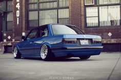 StanceWorks Wallpaper - CAtuned's Estoril E30 - Stance Works