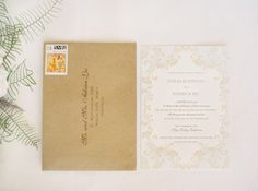 White and Gold Wedding. Inspired by Glittering Gold Wedding Ideas - Inspired By This