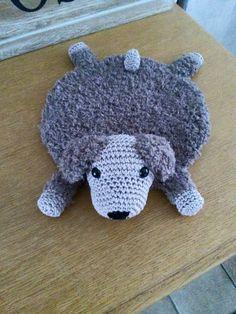 Hond Jip gehaakt door Corrie Scholten #haken #haakpatroon #gehaakt #amigurumi #knuffel #gehaakt #crochet #häkeln #cutedutch
