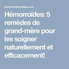 Hémorroïdes: 5 remèdes de grand-mère pour les soigner naturellement et efficacement!
