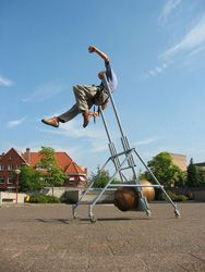 Anti-gravity machine... looks so fun!