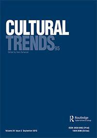 Cultural Trends. Vol. 24, no. 3 (Sep. 2015)