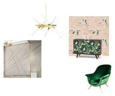 """girls room1"" by mukhtarova-patimat on Polyvore featuring interior, interiors, interior design, дом, home decor, interior decorating и Eichholtz"