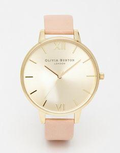 Olivia Burton – Uhr mit großem Zifferblatt