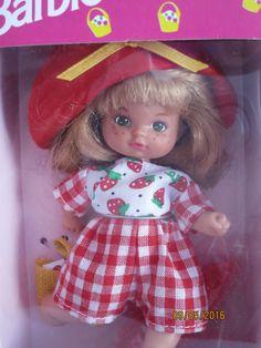 Barbie Li'l Friends 1994 Kleine Freundinnen NRFB Erdbeermädchen in Spielzeug, Puppen & Zubehör, Mode-, Spielpuppen & Zubehör, Barbiepuppen & Zubehör /Mattel, Puppen | eBay