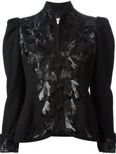sequinned jacket