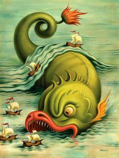 O surrealismo de Chris Buzelli
