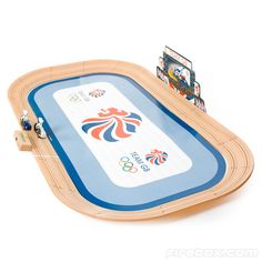 I'm obsessed with the Olympics at the minute! I really really want one of these! Team GB Cycling Micro Scalextric Set :-)