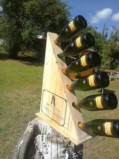 Latest wine rack the chard hand made by tom @stonesintetiors
