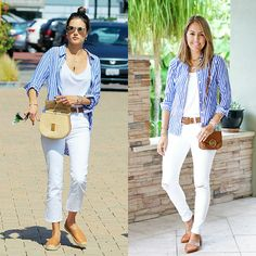 Today's Everyday Fashion:Alessandra's Button Down