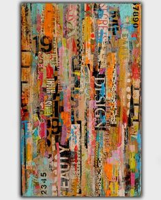 METRO MIX (series): 100% ORIGINAL – ONE-OF-A-KIND PAINTING BY ERIN ASHLEY ©  HIGH QUALITY GALLERY WRAPPED CANVAS WITH SIDES 1-1/2INCH DEEP PAINTED IN BLACK  SIGNED BY ARTIST ON BACK OF CANVAS  ART WORK IS SEALED/PROTECTED WITH A HIGH GLOSS VARNISH   MEDIUM – MIXED MEDIA ACRYLIC  WWW.ERINASHLEYART.COM