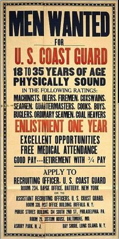 WWI USCG poster