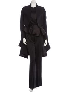 Yves Saint Laurent Three-Piece Pantsuit Shockingly Beautiful- blink and it's gone