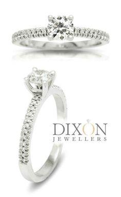 Custom Diamond Engagement Rings Portfolio l Dixon Jewellers Sparkling Diamond, Diamond Bands, Diamond Engagement Rings, Jewels, Jewerly, Gemstones, Diamond Engagement Ring, Fine Jewelry, Gem