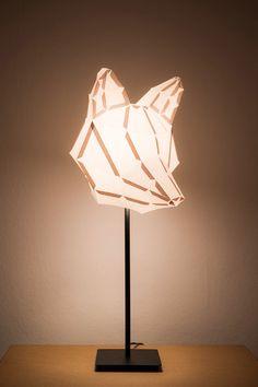 Fox Medium - do it yourself paper lampshade