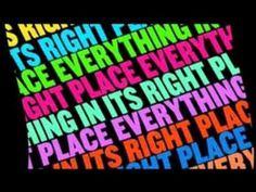 Remix de Radiohead (everything in it's right place) utilisé par blabloblia!