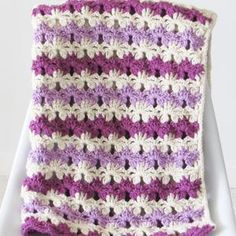 Crochet Baby Blanket Pattern Crochet Afghan Pattern Crochet | Etsy Baby Blanket Crochet, Blanket Yarn, Crochet Baby, Baby Afghans, Crochet Slipper Pattern, Afghan Crochet Patterns, Crochet Afghans, Easy Crochet, Super Saver