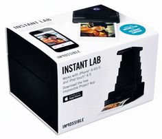 The Impossible Instant Lab | Impossible. Analog Instant Film and Cameras.