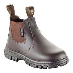 Amazon.com: Grosby Ranch 2 Leather Boots Toddler Brown Size 6 1/2: Shoes