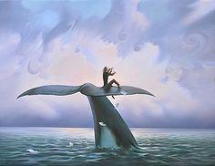 Vladimir Kush - Play For The Ocean