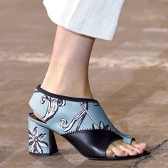 A Sneak Peek At Next Season's Must-Own Accessories | The Zoe Report 3.1 Philip Lim Floral Booties Spring 2016