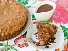 Brownie Tart Recipe for #SundaySupper