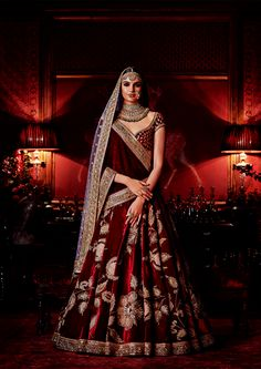 """""""Sabyasachi's Firdaus Collection 2016: Firdaus is the highest garden in paradise, and in Sabyasachi rendition, most of the ingredients in the…"""