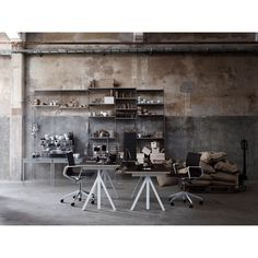 String works desk  - Height adjustable table frame | Available at Skandium, www.skandium.com