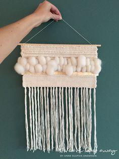 The art of weaving Weaving Wall Hanging, Weaving Art, Loom Weaving, Wall Hangings, Textiles, Hanging Mobile, Weaving Techniques, Art Tutorials, Textile Art