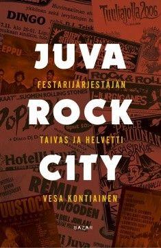 Kuvaus: Juva Rock City on kattava katsaus suomalais-savolaiseen rock-historiaan eri vuosikymmeniltä. Juvan maaperään ovat jättäneet jälkensä kaikki Suomi-rockin jättiläiset. Kirja piirtää värikästä kuvaa siitä, mitä kulisseiden takana ja lavalla on sattunut ja tapahtunut. Ja kuinka järjettömän määrän raakaa duunia festareiden ja tapahtumien järjestäminen vaatii.