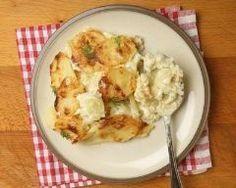 Kohlrabi Gratin, Comfort Food, Naan, Tupperware, Barbecue, Potato Salad, Cauliflower, Slow Cooker, Food And Drink
