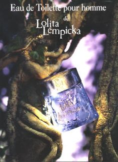 Au Masculin - Lolita Lempicka (for men) Empty Perfume Bottles, Perfume Ad, Parfum Lolita Lempicka, Advertising, Ads, Fragrances, Packaging, Posters, Passion