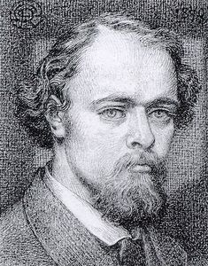 Self-Portrait, 1870, Dante Gabriel Rossetti