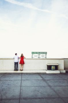 A Los Angeles Engagement Photo Session